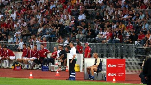 das erste Pflichtspiel unter Ruud Kaiser gegen Erfurt