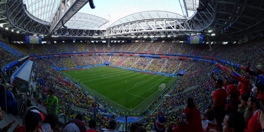 🇷🇺 WM 2018: Brasilien vs. Costa Rica
